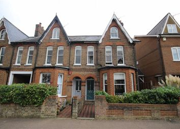 Thumbnail 4 bedroom end terrace house for sale in Cowper Road, Harpenden, Hertfordshire