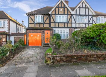 Thumbnail 4 bed semi-detached house for sale in Houndsden Road, Winchmore Hill, London