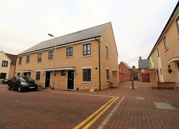 Thumbnail 3 bed end terrace house for sale in Hyderabad Close, Colchester