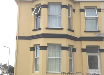 Thumbnail 2 bed flat to rent in Cranbourne Avenue, St Judes, Plymouth