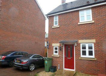 Thumbnail 2 bedroom semi-detached house to rent in Persimmon Gardens, Cheltenham