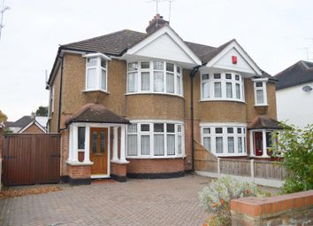 Thumbnail 3 bed semi-detached house for sale in Avenue Road, Harold Wood, Romford