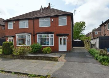 Thumbnail 3 bed semi-detached house for sale in Ferndene Road, Prestwich, Manchester
