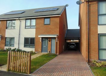 Thumbnail 3 bed semi-detached house to rent in The Close, South Ashford, Kent