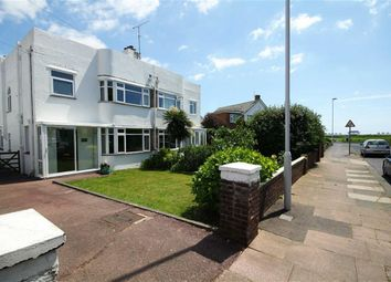 Thumbnail 3 bed semi-detached house for sale in Alinora Avenue, Goring-By-Sea, West Sussex