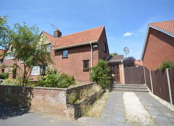 Thumbnail 3 bed semi-detached house for sale in Valpy Avenue, Norwich, Norfolk