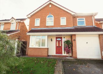 Thumbnail 4 bed detached house for sale in Brundle Avenue, Stafford