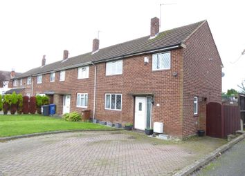 Thumbnail 3 bed end terrace house for sale in Shakespeare Road, Burton-On-Trent