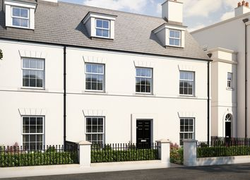 "Thumbnail 4 bed terraced house for sale in ""The Lydford"" at Haye Road, Sherford, Plymouth"