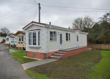 Thumbnail 2 bed mobile/park home for sale in St Christopher Park, Ellistown, Leicestershire