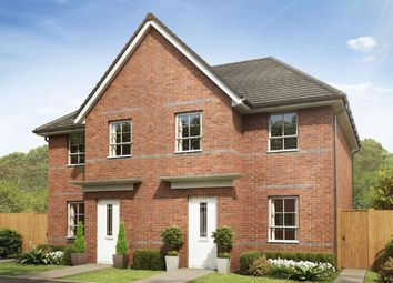 "Thumbnail 3 bed semi-detached house for sale in ""Palmerston"" at Blenheim Avenue, Brough"