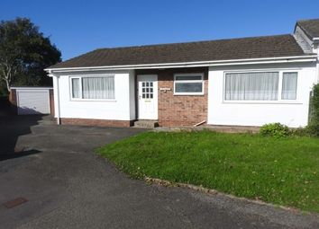 Thumbnail 3 bed bungalow to rent in Heol Y Gorwel, Aberporth, Cardigan