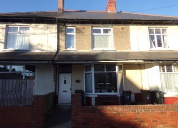 Thumbnail 3 bed terraced house for sale in Eastbourne Gardens, Whitley Bay