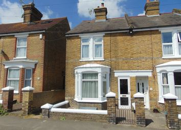 Thumbnail 2 bed end terrace house to rent in Saxon Road, Faversham