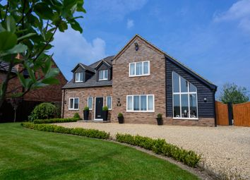 Thumbnail 4 bedroom detached house for sale in Main Road, Parson Drove, Wisbech