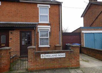 Thumbnail 2 bed end terrace house to rent in Holland Road, Ipswich, Suffolk