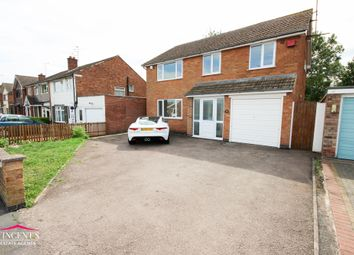 Thumbnail 4 bed detached house for sale in Rushmere Walk, Leicester Forest East