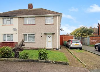 Thumbnail 3 bed semi-detached house for sale in Burns Close, Welling, Kent
