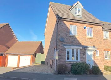 Thumbnail 4 bed town house for sale in Parkside, Wilnecote, Tamworth
