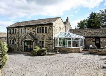Thumbnail 5 bed detached house for sale in Hollin Hall Lane, Mirfield, West Yorkshire