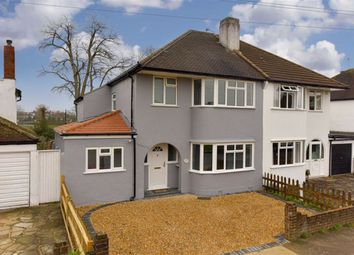 4 bed semi-detached house for sale in Hazon Way, Epsom, Surrey KT19