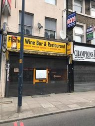 Thumbnail Restaurant/cafe to let in 221 Lee High Road, Lewisham