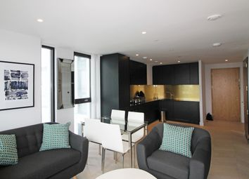 Thumbnail 1 bed flat for sale in The Waterman, Greenwich Peninsula, London