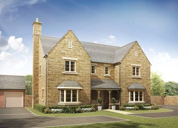 "Thumbnail 5 bed detached house for sale in ""The Tiddington "" at Malleson Road, Gotherington, Cheltenham"