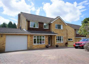 Thumbnail 4 bed detached house for sale in Iberian Way, Camberley