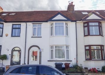 3 bed terraced house for sale in Ferndale Road, Gravesend, Kent DA12