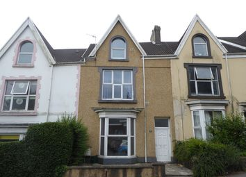 Thumbnail 4 bed terraced house for sale in Glanmor Road, Uplands, Swansea