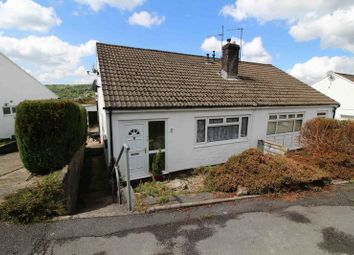 Thumbnail 3 bed semi-detached bungalow for sale in Moorland Heights, The Common, Pontypridd