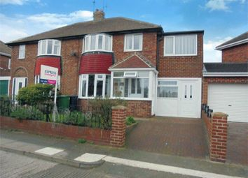Thumbnail 4 bed semi-detached house for sale in Cumbrian Avenue, Sunderland, Tyne And Wear