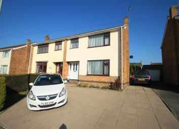 Thumbnail 3 bedroom semi-detached house for sale in Glyn Close, Barwell, Leicester