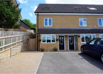 Thumbnail 3 bed end terrace house for sale in Ironside Close, Chatham