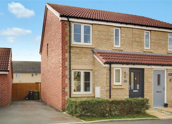Thumbnail 2 bed semi-detached house for sale in Landford Crescent, Coate, Swindon