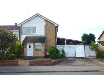 Thumbnail 3 bed link-detached house for sale in Rosemead Drive, Oadby, Leicester, Leicestershire