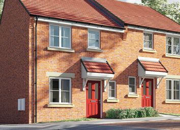 Thumbnail 3 bed semi-detached house for sale in Saints Quarter, Steelhouse Lane, Wolverhampton, West Midlands