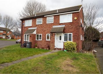 Thumbnail 1 bedroom maisonette for sale in Warren Avenue, Leicester