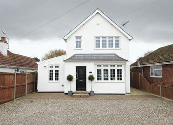 Thumbnail 3 bed detached house for sale in Station Road, Corton, Lowestoft