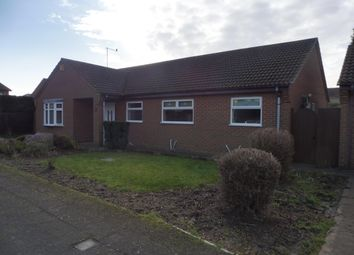 Thumbnail 3 bed bungalow to rent in Bowker Way, Whittlesey, Peterborough