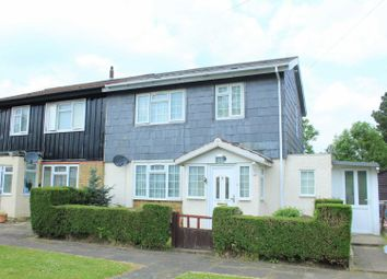 Thumbnail 3 bed end terrace house for sale in Bravington Close, Shepperton