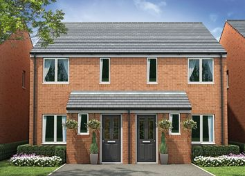"Thumbnail 2 bed end terrace house for sale in ""The Alnwick"" at Whitney Drive, Yaxley, Peterborough"