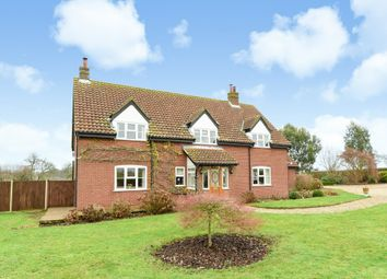 Thumbnail 5 bedroom detached house for sale in Dereham Road, Thuxton, Norwich