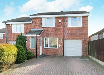 Thumbnail 3 bed semi-detached house for sale in Oakworth Close, Halfway, Sheffield, South Yorkshire
