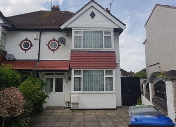 Thumbnail 4 bedroom semi-detached house to rent in Lewgars Avenue, London
