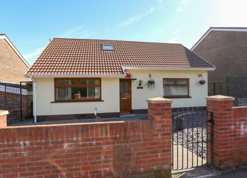 Thumbnail 4 bedroom detached bungalow for sale in Ynysfach, Merthyr Tydfil