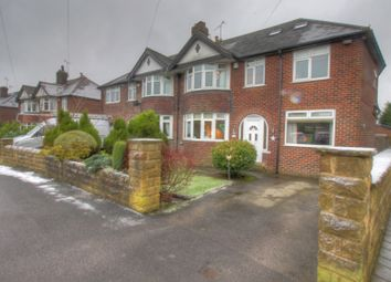 Thumbnail 5 bed semi-detached house for sale in Kings Drive, Bramhope, Leeds