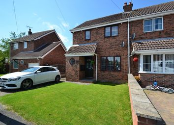 Thumbnail 3 bed semi-detached house for sale in Ings Holt, South Kirkby, Pontefract