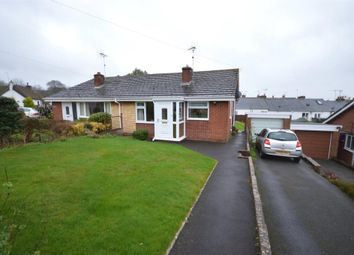 Thumbnail 2 bed semi-detached bungalow for sale in Silverdale, Silverton, Exeter, Devon